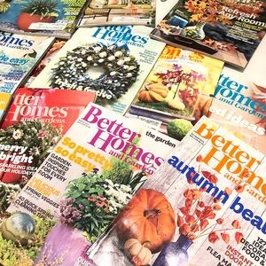 Better Homes & Gardens Magazine Set of 19